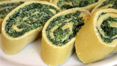Rotolo di spinaci in straza